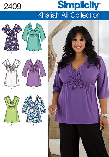 Misses' & Plus Size Tops