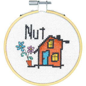 Nut House, Counted Cross Stitch_72-74834