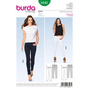 Burda Style Pattern B6543 Misses' Pants