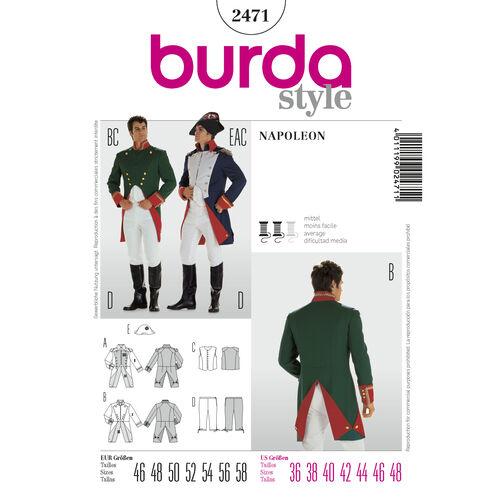Burda Style Pattern 2471 Napoleon