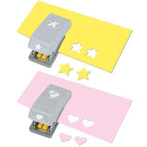 Heart and Star 2-Piece Mini Punch Set_54-10075