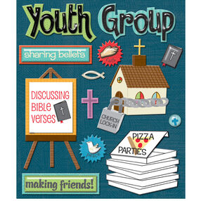 Youth Group Sticker Medley_30-586871