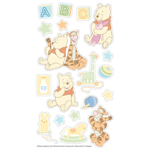 Baby Pooh Puffy Stickers_53-30001