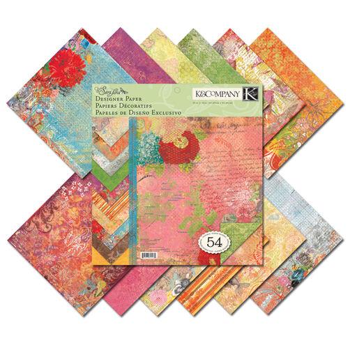 Que Sera Sera 12x12 Designer Paper Pad_625532