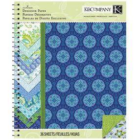 Lily Ashbury Indigo Garden 8.5x11 Paper Pad_30-681323