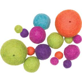 Bright Wool Felt Ball Assortment_73324