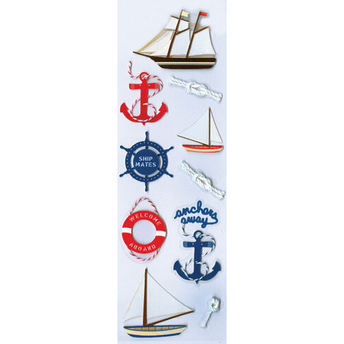 Sailboat Stickers_M860436
