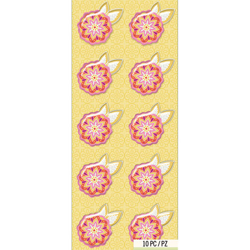 Lily Ashbury Raspberry Lemonade Pink Flower Mini Accents_30-681422
