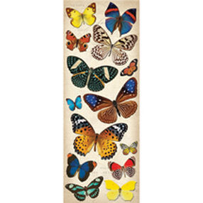 Natural Butterflies Adhesive Chipboard_30-137110