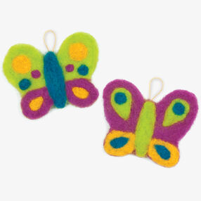 Try Needle Felting Butterfly _72-73917