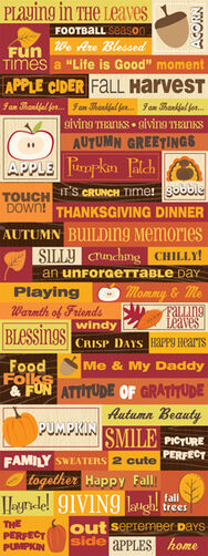 Autumn Days Embossed Stickers_30-137332