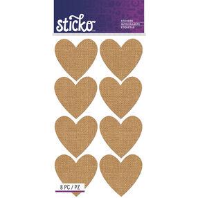 Burlap Heart Labels_52-72046