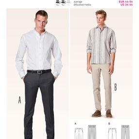 Burda Style Pattern 6933 Menswear