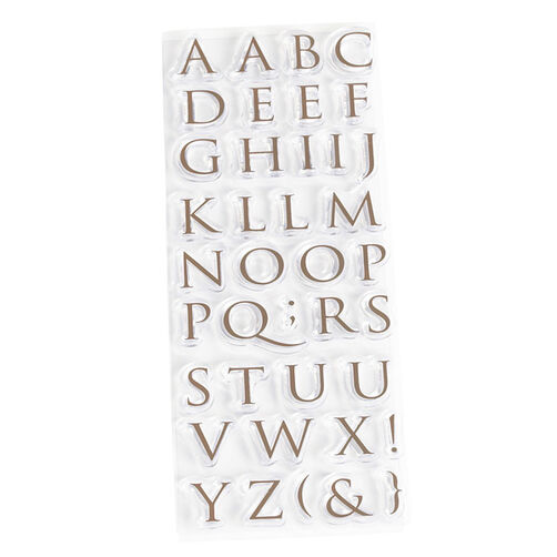 Clear Stamp - Trajan Alphabet_40-24020