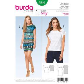 Burda Style Pattern B6540 Misses' Top and Dress
