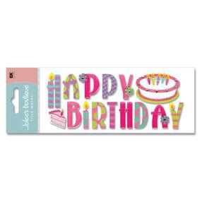 Happy Birthday Title Stickers_SPJT104