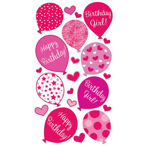 Birthday Girl Stickers_52-00710