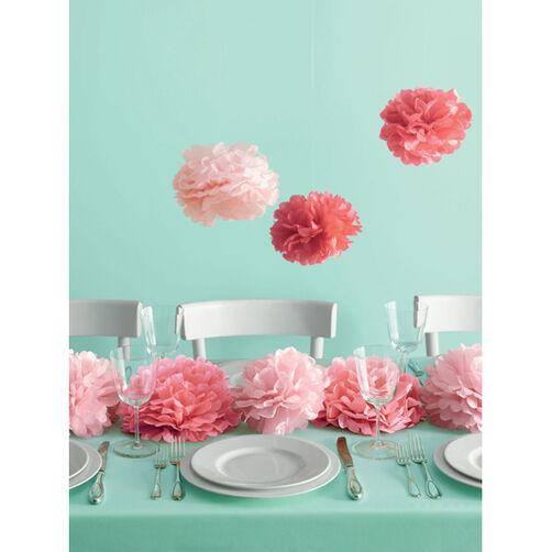 Medium Pink Pom-Poms_44-10167