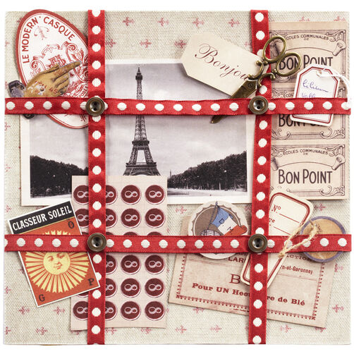 Ephemera French Paper Kit_50-00391