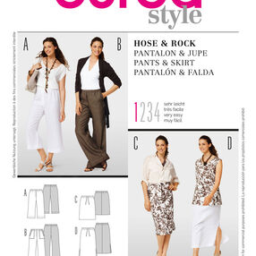 Burda Style, Skirts & Pants