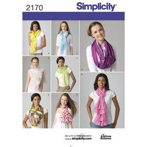 Simplicity Pattern 2170 Scarves