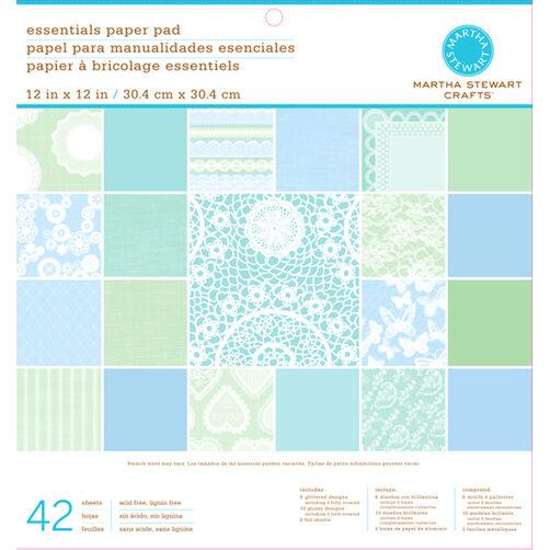 Doily Lace 12X12 Paper Pad_45-02054