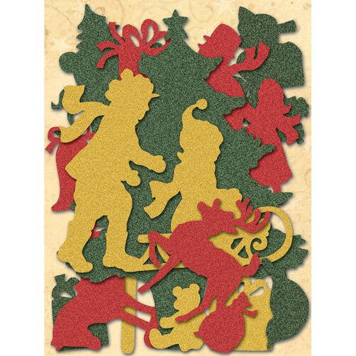 Susan Winget Glad Tidings Snowmen Die-cut Cardstock_30-595606