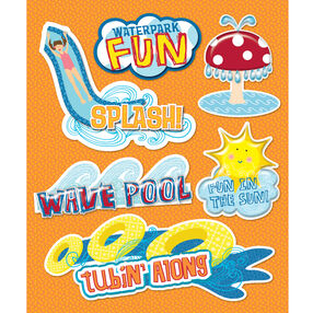 Water park Sticker Medley_30-586338