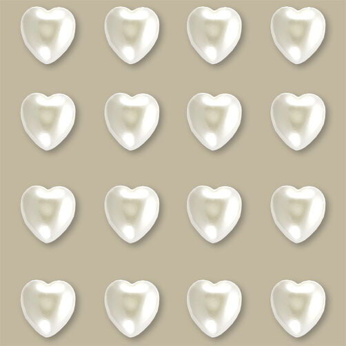 Pearl Heart Stickers_50-21371