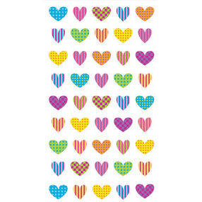 Colorful Heart stickers _52-00810