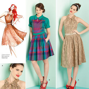 Misses' & Miss Petite Dresses Leanne Marshall Collection