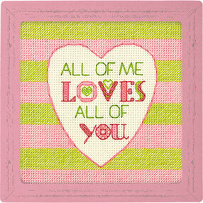 All of Me, Counted Cross Stitch_70-65166