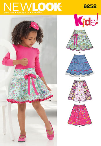 Child's and Girls' Circle Skirts