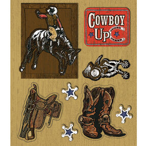 Cowboys Sticker Medley_30-587298
