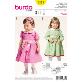 Burda Style Pattern 9371 Dress and Pants