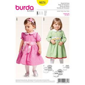 Burda Style Pattern 9371 Dress and Pants