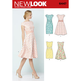 New Look Pattern 6447 Misses' Dresses