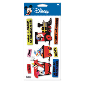 Train Mickey Dimensional Stickers_DJBV11