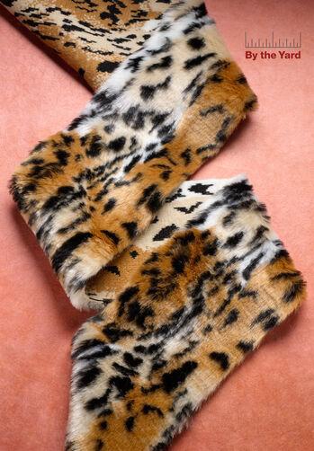 """4"""" Faux Jaguar Fur"""