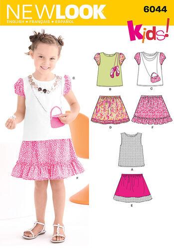 Child's Skirt & Top