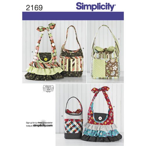 Simplicity Pattern 2169 Bags