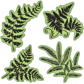 Ferns Cling Stamps_65-32083