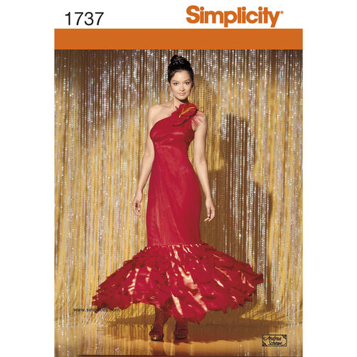 Simplicity Pattern 1737 Misses' Costume