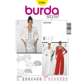 Burda Style Pattern 7686 Bolero