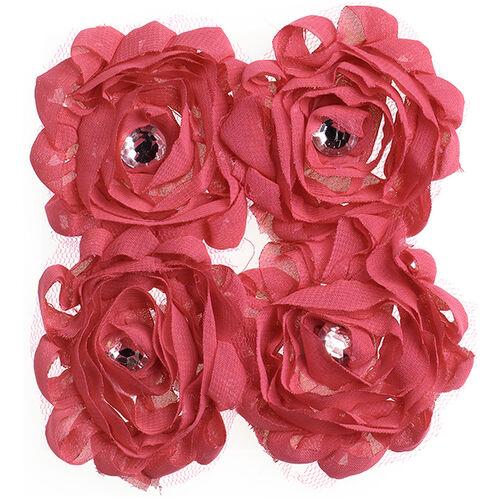 Pink Large Floral Embellishments_50-21587