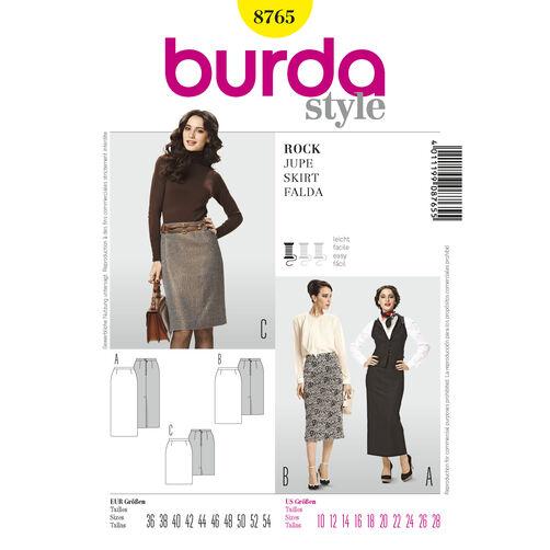 Burda Style Pattern 8765 Skirt