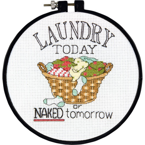 Laundry Today, Counted Cross Stitch_72-73764