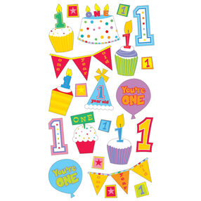 Baby's First Birthday Stickers_52-00689
