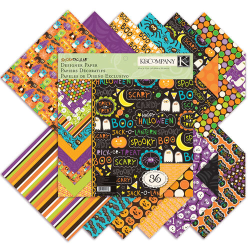 Spooktacular 12x12 Designer Paper Pad_30-592582