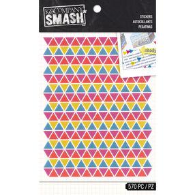 K&Company SMASH Neon Triangle Stickers_30-685796